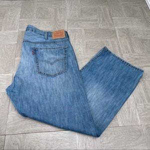 Levi's 569 40x30 loose straight fit jeans men's